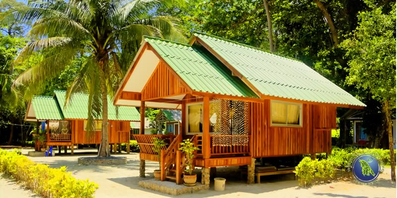 Family Bungalows at Porn's Bungalows (southern part)