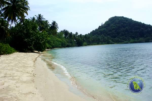 Long Beach on Ko Chang in Thailand